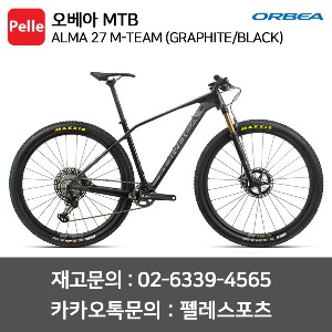 오베아 알마 ALMA 27 M-TEAM (GRAPHITE/BLACK)